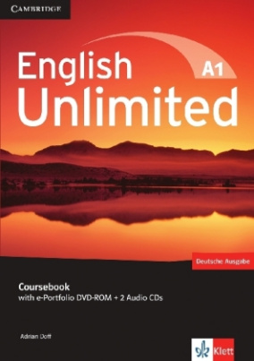 Coursebook, w. e-portfolio DVD-ROM and 2 Audio-CDs