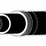 Türaufkleber Eye Spy Teleskop