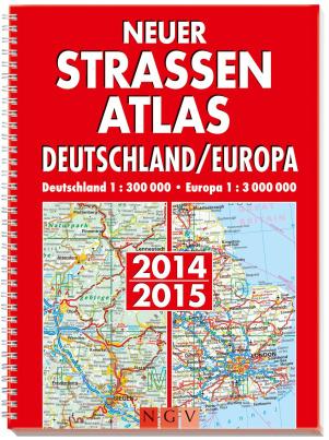 Neuer Straßenatlas Deutschland/Europa 2014/2015