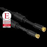 SAT-Anschlusskabel, F-Stecker - F-Stecker, 100 dB, 3,0 m