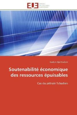 Soutenabilité économique des ressources épuisables