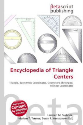 Encyclopedia of Triangle Centers