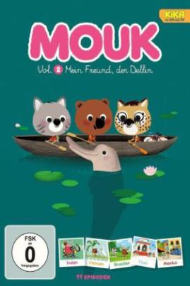 Mouk, der Weltreisebär - Mein Freund, der Delfin, 1 DVD. Tl.2
