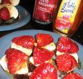 Erdbeeren mit Balsamico und Mozzarella