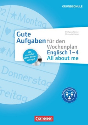 Englisch 1-4 - All about me, m. CD-ROM