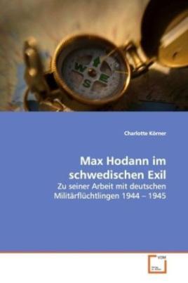 Max Hodann im schwedischen Exil