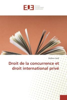 Droit de la concurrence et droit international privé