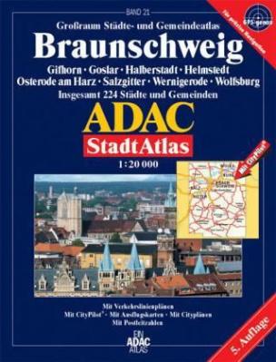 ADAC StadtAtlas Großraum Städte- und Gemeindeatlas Braunschweig