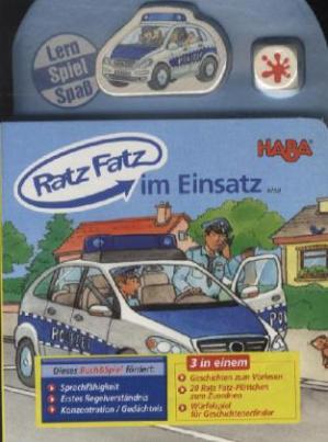 Ratz Fatz - im Einsatz, m. Würfel u. 20 Plättchen