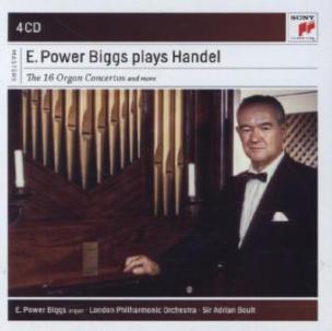 E. Power Biggs Plays Handel - The 16 Concertos and More, 4 Audio-CDs
