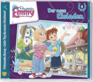 Prinzessin Emmy - Der neue Eisladen, Audio-CD