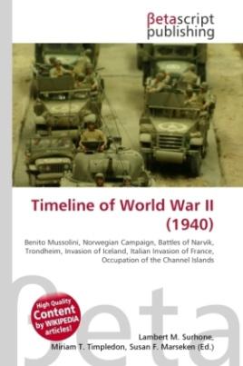 Timeline of World War II (1940)