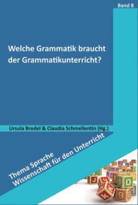 Welche Grammatik braucht der Grammatikunterricht?