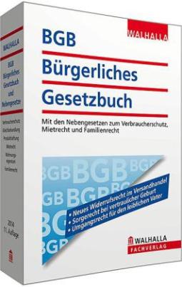 BGB - Bürgerliches Gesetzbuch, Ausgabe 2014