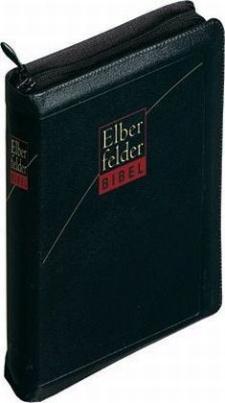 Elberfelder Bibel, Taschenausgabe, Reißverschluss