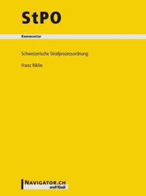 StPO Kommentar (f. d. Schweiz)