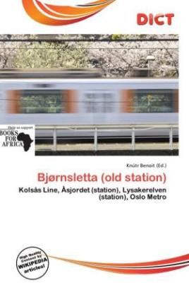 Bjørnsletta (old station)