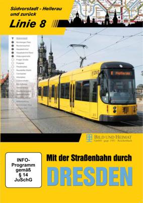 Mit der Straßenbahn durch DRESDEN - Linie 8 (DVD)