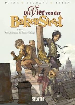 Die Vier von der Bakerstreet - Das Geheimnis des blauen Vorhangs