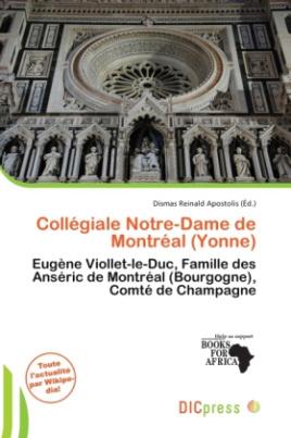 Collégiale Notre-Dame de Montréal (Yonne)