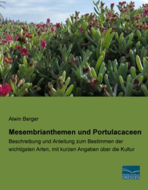 Mesembrianthemen und Portulacaceen