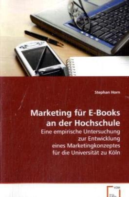 Marketing für E-Books an der Hochschule