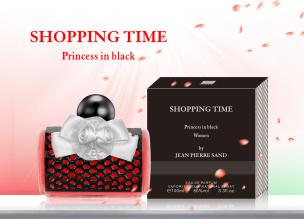 Parfüm Shopping Time Princess in Black Eau de Parfum für Sie