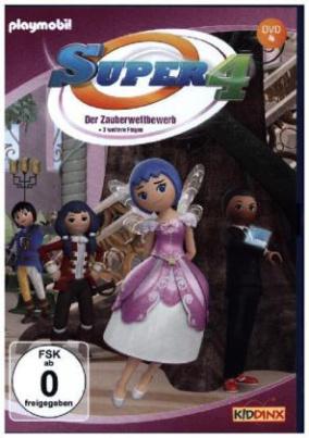 Super 4 - Der Zauberwettbewerb, DVD