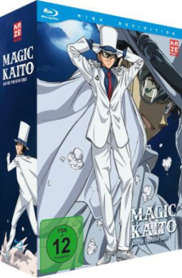 Magic Kaito: Kid the Phantom Thief - Blu-ray 1 + Sammelschuber [Limited Edition], 1 Blu-ray. Vol.1