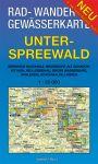 Rad-, Wander- und Gewässerkarte: Unterspreewald
